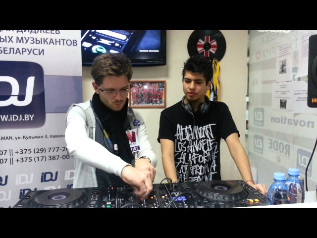 Alexandre Bergheau B2B Matias Faint (Heatbeat) @ iDJ.by (Master-class TranceNation GOLD) 2
