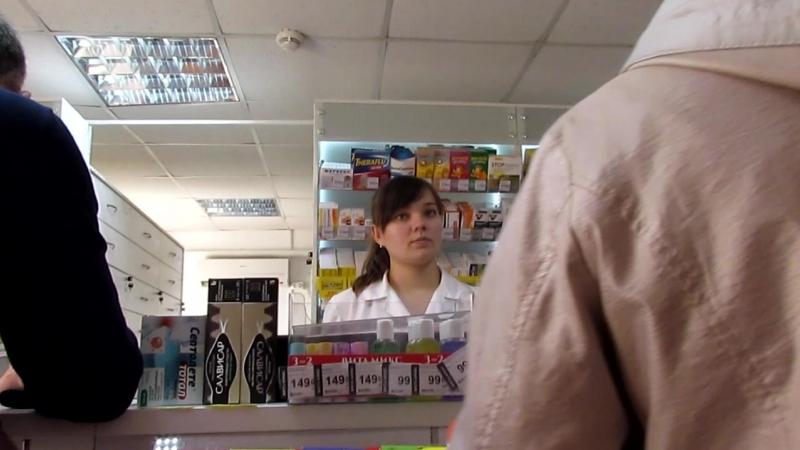 Эльдар Богунов покупает маску в аптеке!