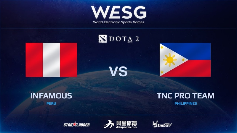 [RU] Infamous vs TNC Pro Team, Game 2, 2016 WESG Dota 2 Grand Final presented by Alipay