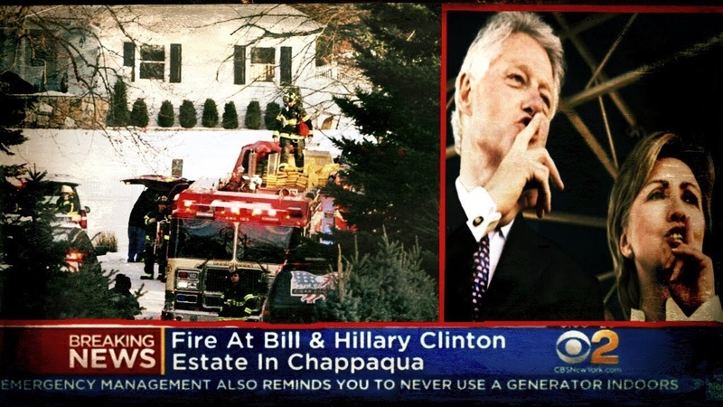 Burning Evidence Hillary's Mysterious House Fire