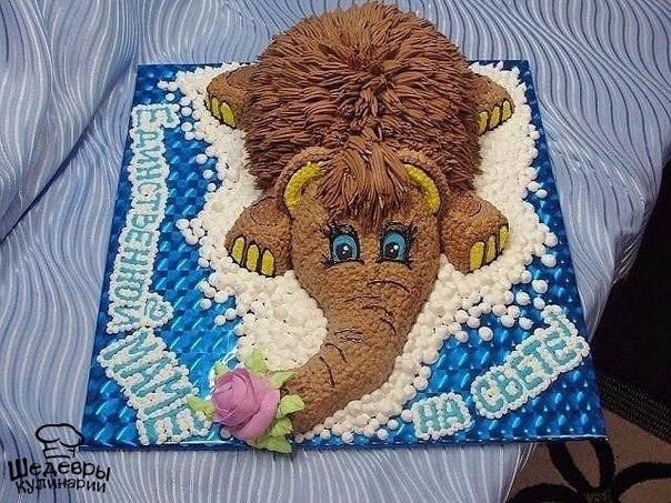 Потрясающий торт для любимой мамы (1 фото)
