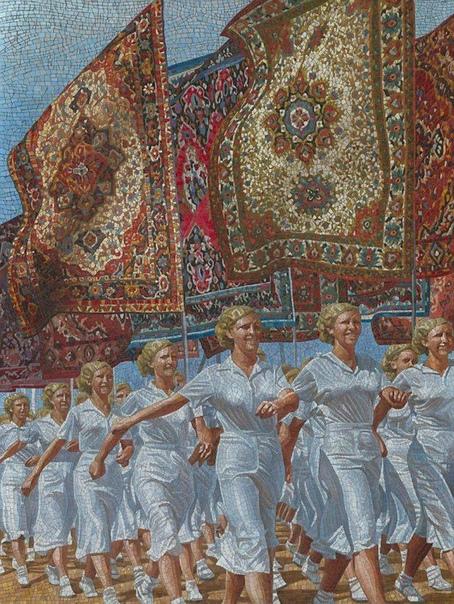 Анатолий Ганкевич (р.1965, Одесса, Москва) Русские идут 2, 2014г.