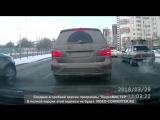 На Луганской водитель Toyota устроил погоню за Fiat
