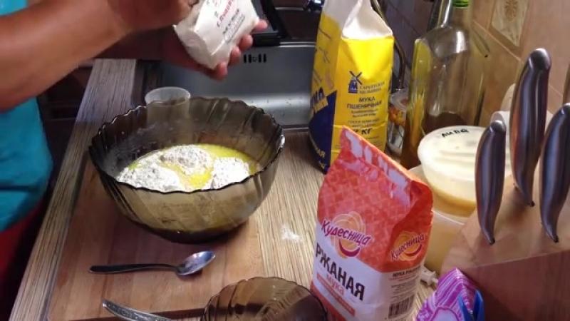 Бездрожжевой домашний хлеб на кефире от Марии