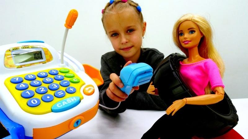 Игры в куклы - Барби решила заняться спортом