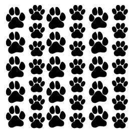 Трафареты кошек на холодильник своими руками 66
