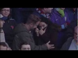 Villa fan proposes to his girlfriend during half-time at Villa Park