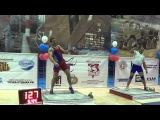 Absolut World record in biathlon 32 kg kettlebells 176+222 points in Open military cup Ivan Denisov