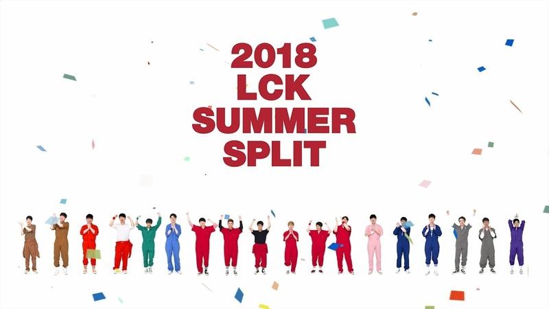 2018 LCK SUMMER SPLIT OPENING / 2018 롤챔스 서머 스플릿 타이틀