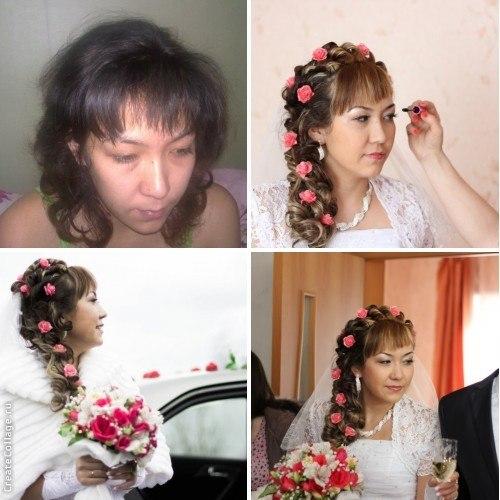 Прически для подружек невесты своими руками 215