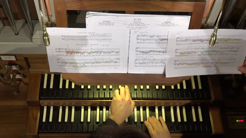 654 J. S. Bach - Chorale prelude Schmücke dich, o liebe Seele (Leipzig Chorales 418), BWV 654 - Paolo Tarizzo organ