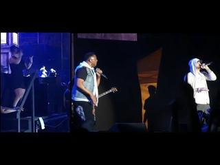 Eminem's Sign Language Interpreter Kills His Supersonic Speed Part Of Rap God (Firefly 2018)