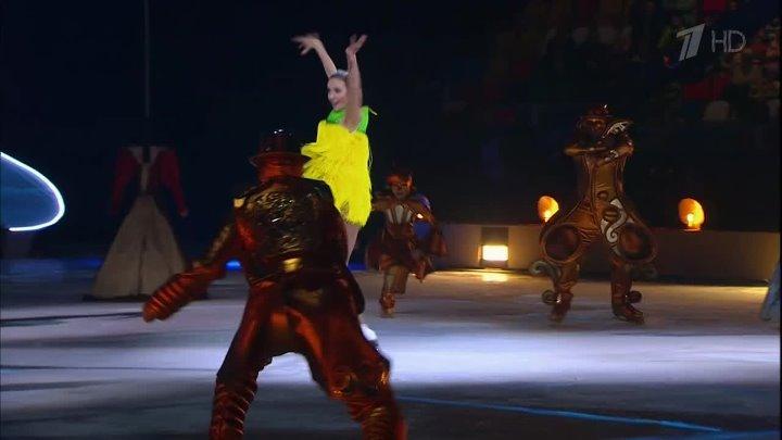 Мюзикл на льду Татьяны Навки «Аленький цветочек» в Москве 2019 HDTV (1080i).