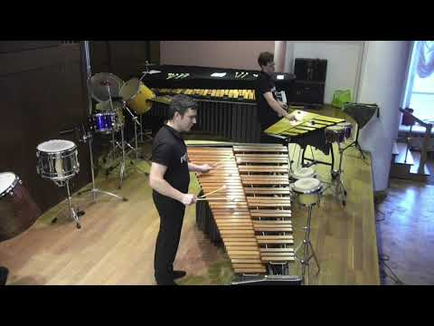 A. Piazzolla Tango 3 from Tango suite perf. by Percarus Duo - Mikhail Putkov and Vladimir Terekhov