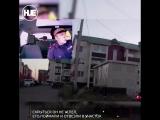 В Сыктывкаре бухой парень прокатил патрульного по двору. Теперь объясняется в участке