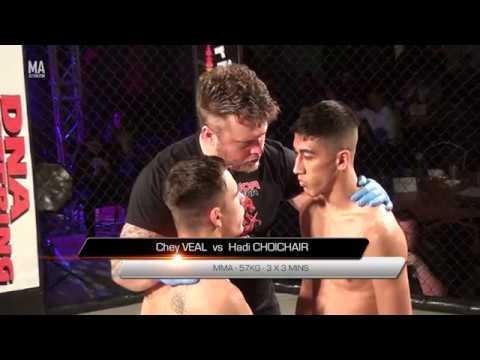 IMPACT FIGHT UK 12 - Hadi Choichair vs Chey Veal
