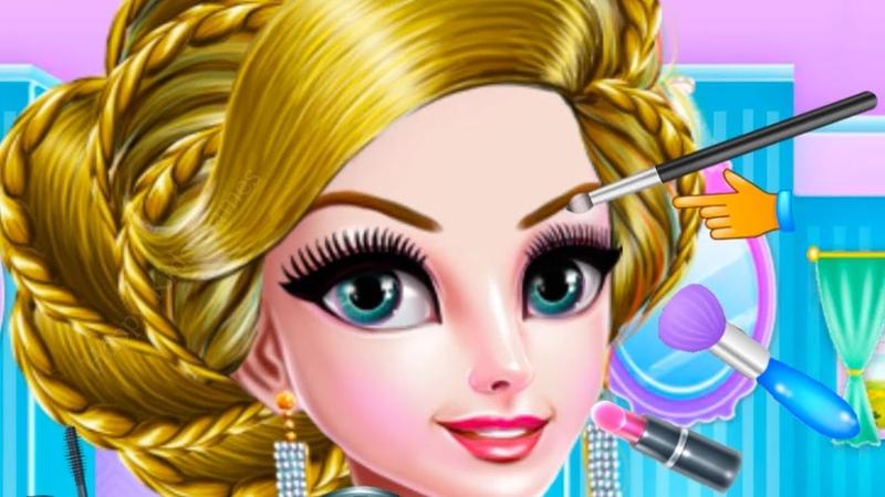 Fun Girl Care Kids Games - Crazy Mommy Beauty Salon - Kids Learn Makeup Hair Salon Games for Girls