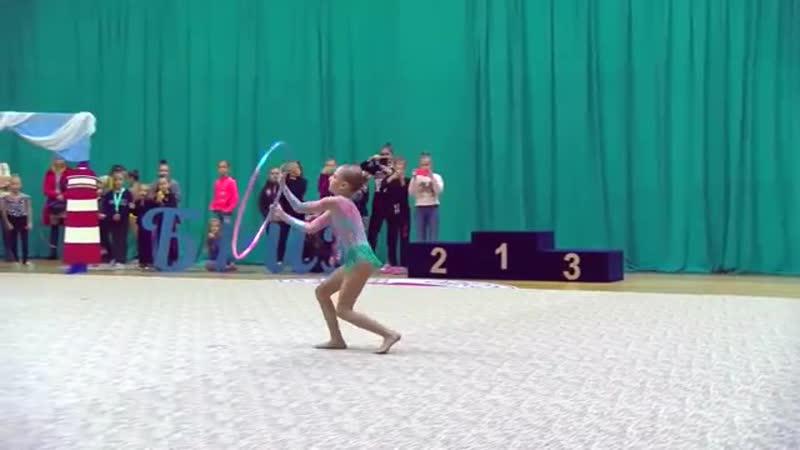 ТРАВМА на Турнире по Художественной гимнастике / Черноморский Бриз 2018