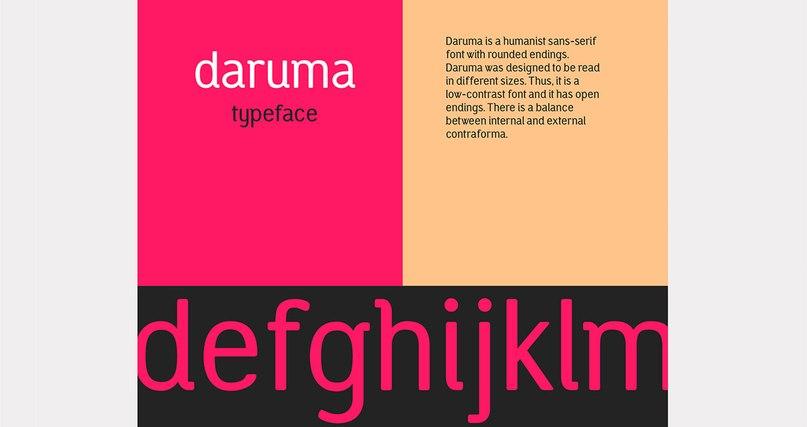 Download daruma typefamily font (typeface)