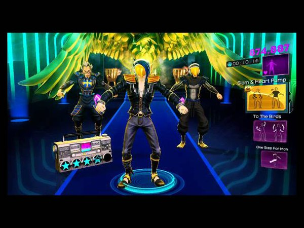 Dance Central 3 - *Secret Song* Tan-Step (Hard) - M-Cue - Gold Stars