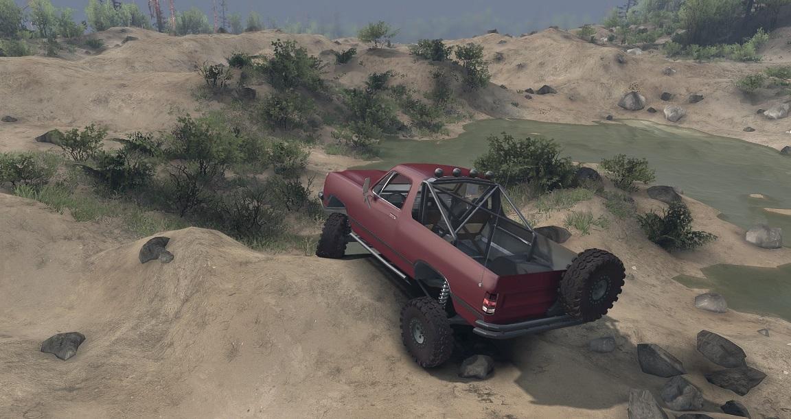 SID 91 Dodge Ramcharger Open Top v1.1 для Spintires - Скриншот 3