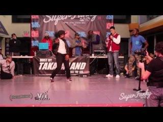 Super Funky Vol.3 Hiphop Semi Final Nene VS. Sylencer VS. Short Circuit