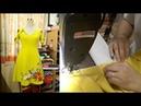 Cách may váy xòe thiên cổ chữ V Phần 1 Thời Trang Thủy Sewing circular dress