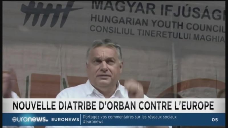 Orban accuse la Commission Européenne de promouvoir le socialisme Euronews 29 07 18