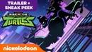 Rise of the Teenage Mutant Ninja Turtles 🗡️ NEW Series OFFICIAL TRAILER w/ Bonus SNEAK PEEK Nick
