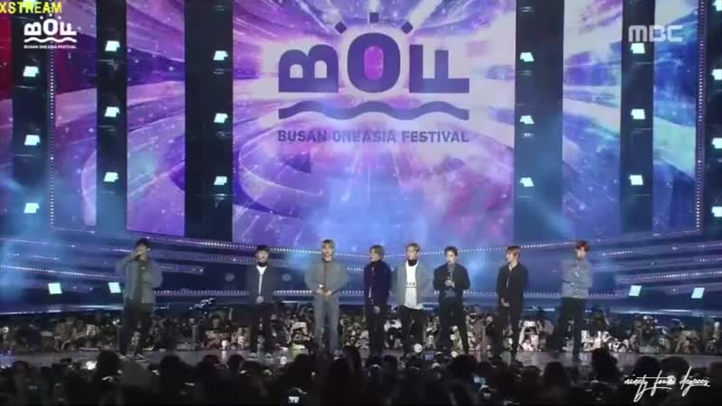 181020 EXO - VCR The Eve Ko Ko Bop Ment Power Ending @ Busan One Asia Festival 2018