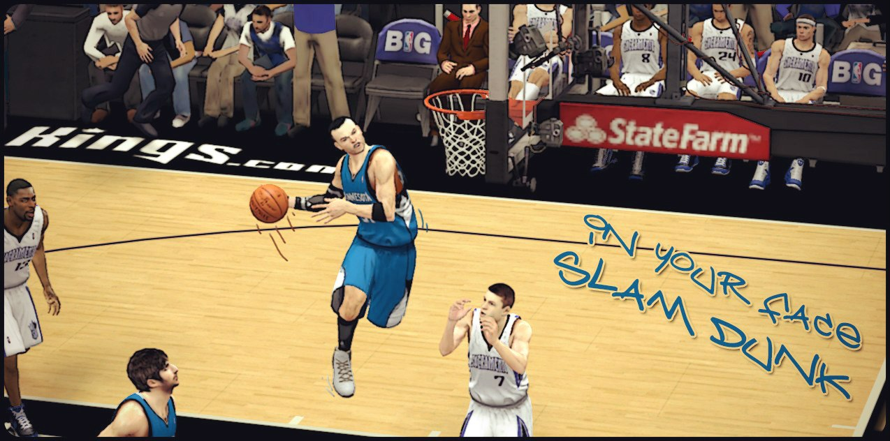 In Your Face Slam Dunk NBA2K13