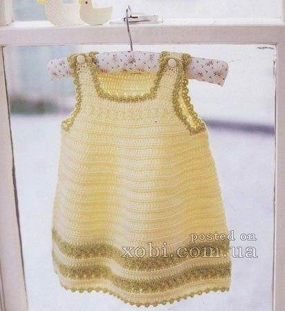 красивое летнее платье на девочку (6 фото) - картинка