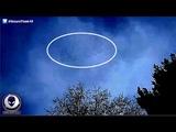 TERRIFIED Man Records Giant MACHINE UFO Hiding In Sky 4716
