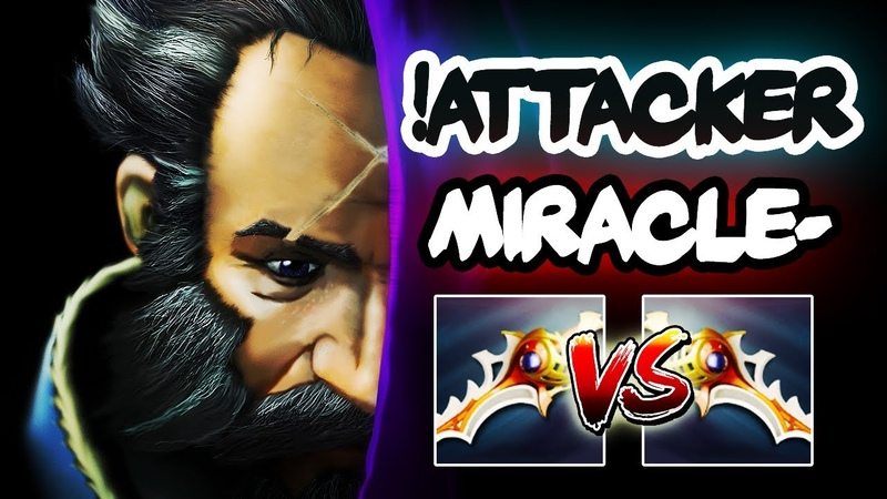 Miracle- Kunkka vs TOP 1 Kunkka Player !Attacker - EPIC Divine Rapier Battle Dota 2 Gameplay