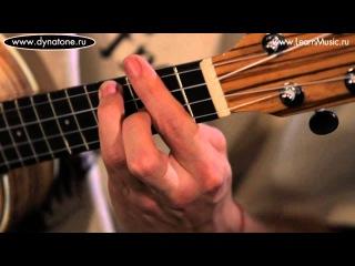 Видео урок: как играть песню Loosing My Religion - R.E.M. на укулеле (гавайская гитара)