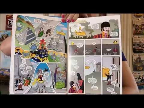Let's read the new illustrated Yellow Submarine book!