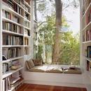 Так классно примоститься здесь с книжкой, кружкой чая и чем-нибудь вкусненьким