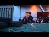 Женщина - МОЩНО. СБУ Луганск 08.04.2014