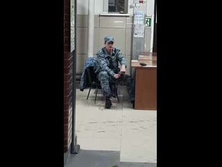 Охранник автовокзала часть 2.
