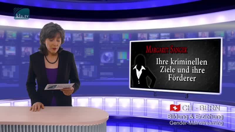 №4 Евгеника: Маргарет Сэнгер, её преступные цели и её покровители _ www.kla.tv
