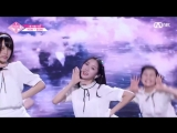 PRODUCE 48 1:1 eye contact | Ван Кы (HOW) - Gfriend Love Whisper Team 1 group battle