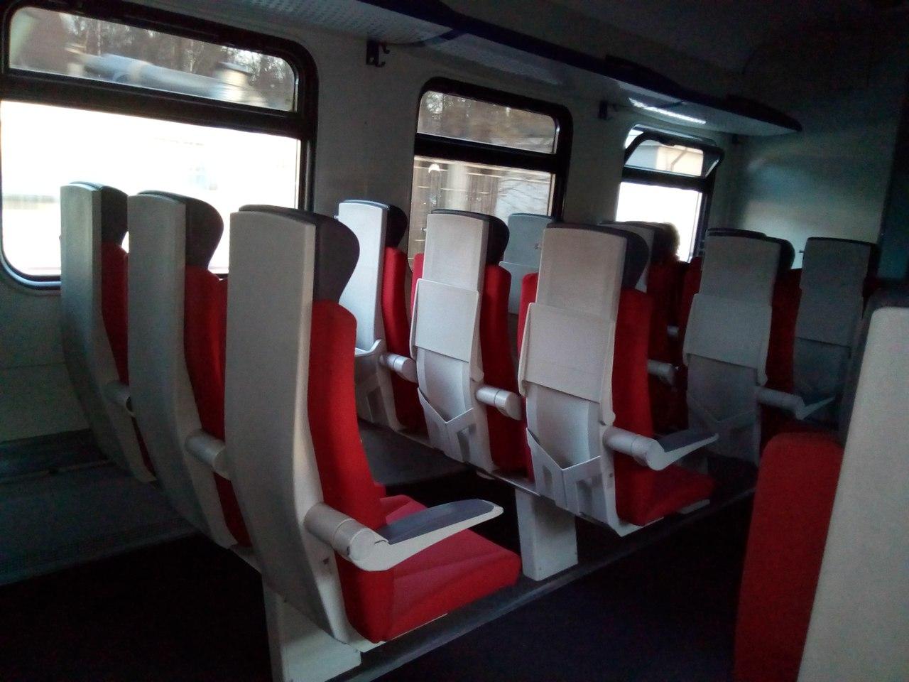 Электричка ЭД4М-0294. Поезд, дающий надежду на светлое будущее...