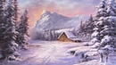 Winter Cabin | Paint with Kevin®