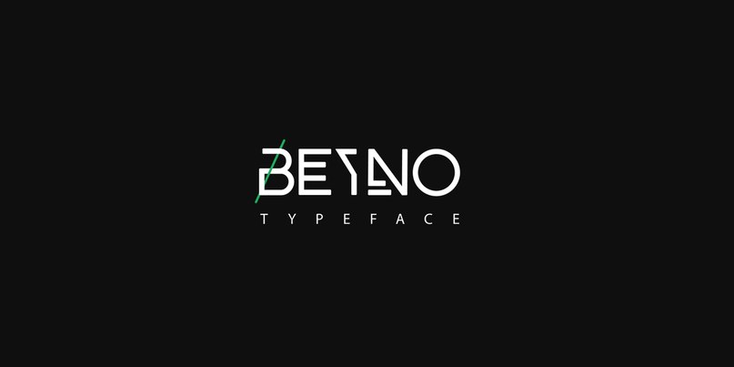 Download BEYNO TYPEFACE font (typeface)
