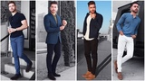 4 Easy Outfits for Men The Blue Lookbook Men's Fashion Inspiration Fall 2017