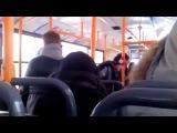 ☼Приколы. Новый вид пиара. Выступайте в автобусе и вас точно заметят.