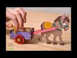 Ugears 3D деревянные модели для раскрашивания