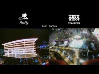 Caddx FireFly vs. TinyWhoop camera (VM275)