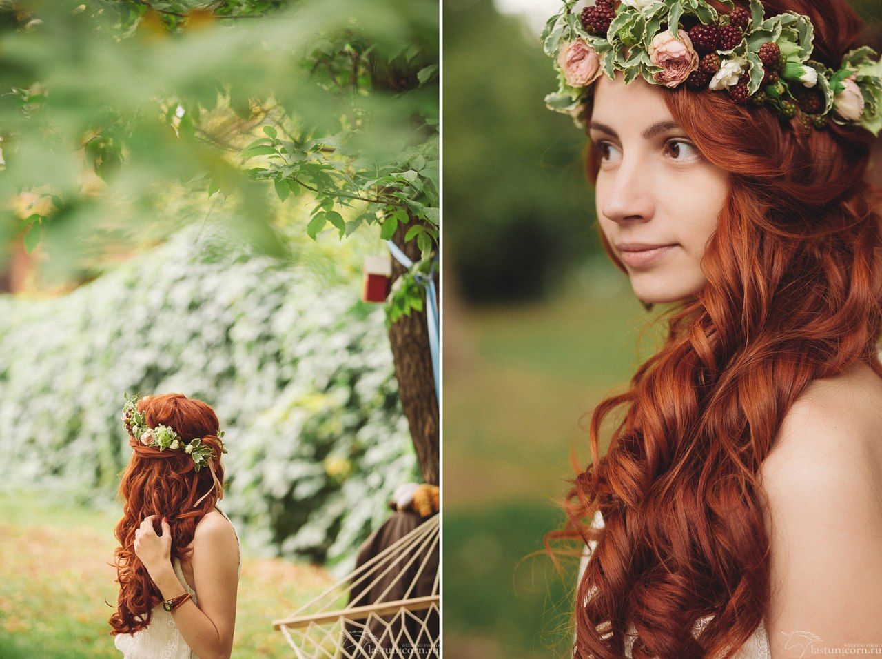 Фото рыжая невеста 5 фотография