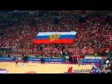 Матч Сербия:Украина. Сербы поют катюшу Delije - Катюша / Crvena zvezda - Budiveljnik 79:70